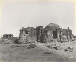 The old temple of Somnathji, from the east [Somnath (Patan)]